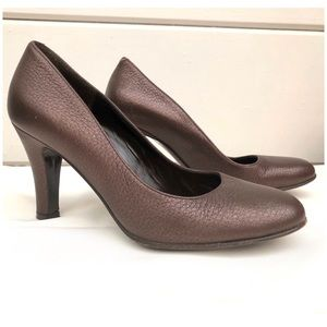 Elegant Super Soft Leather Pumps by Bally